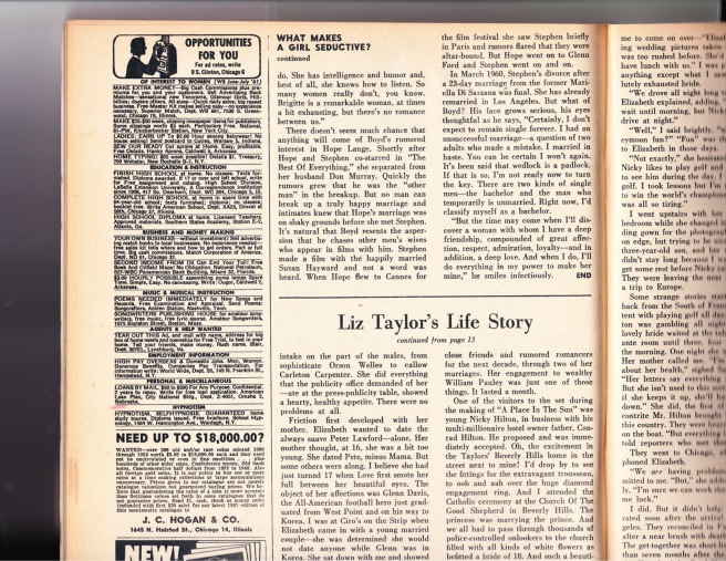 ArticleScreenland July 1961 (1)