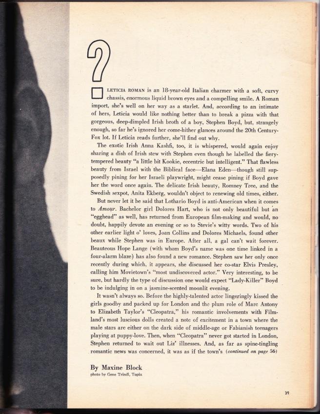 ArticleScreenland July 1961 (3)