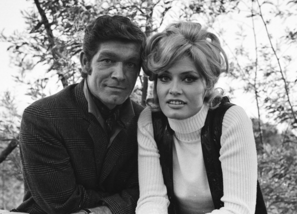 Stephen Boyd and Marisa Mell