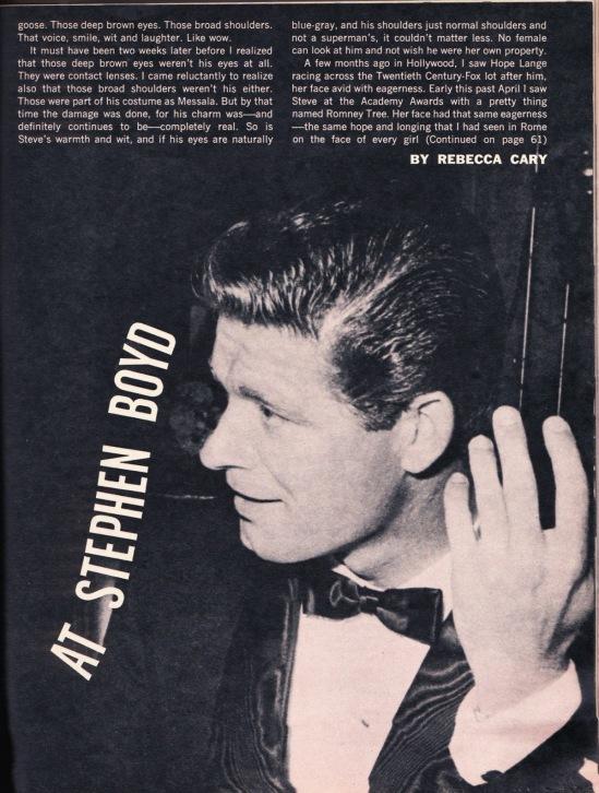 ArticleMovie Stars TV Close Ups July 1960 (3)
