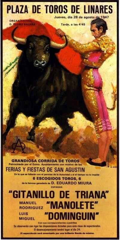 5c7e2900a0ffdecb8440176da6740bb3--spanish-posters-bullfighting