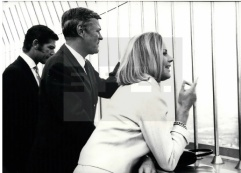 with Honor Blackman and Peter Van Eyck