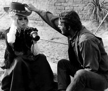 with Brigitte Bardot, 1968
