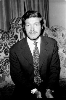 Stephen Boyd in Madrid, 1973, Madrid, Spain. (Photo by Gianni Ferrari/Cover/Getty Images).
