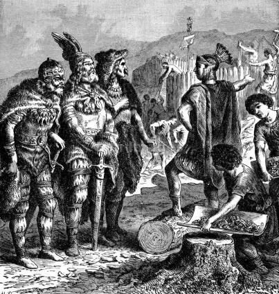 Flavius Stilicho confronts Goths