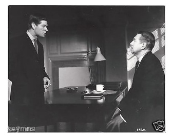 With Michael Redgrave