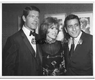 With Jill St John and Tony Bennett in Las Vegas