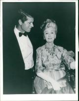 With Hedda Hopper during The Oscar, 1965
