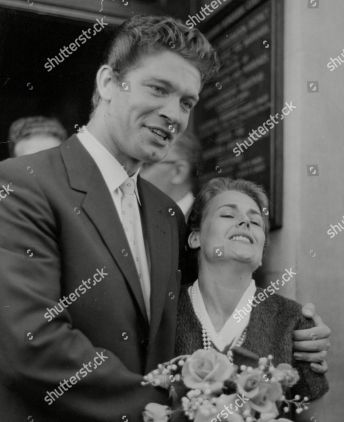 Mandatory Credit: Photo by ANL/Shutterstock (9045556a) Actor Stephen Boyd And Wife Mariella Di Sarzana After Their Wedding At Fulham Registry Office. Box 723 408121647 A.jpg. Actor Stephen Boyd And Wife Mariella Di Sarzana After Their Wedding At Fulham Registry Office. Box 723 408121647 A.jpg.