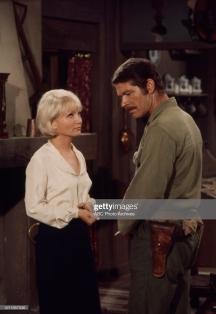 Unspecified - 1970: (L-R) Susan Oliver, Stephen Boyd appearing on the Walt Disney Television via Getty Images tv movie 'Carter's Army', January 27, 1970. (Photo by Walt Disney Television via Getty Images)