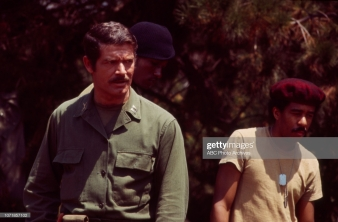 Unspecified - 1970: (L-R) Stephen Boyd, Richard Pryor appearing on the Walt Disney Television via Getty Images tv movie 'Carter's Army', January 27, 1970. (Photo by Walt Disney Television via Getty Images)
