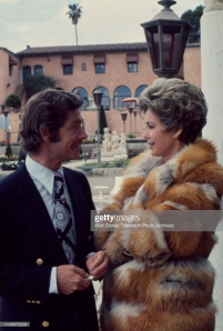 Unspecified - 1973: (L-R) Stephen Boyd, Barbara Rush appearing in the Walt Disney Television via Getty Images tv movie 'Of Men and Women'. (Photo by Walt Disney Television via Getty Images)